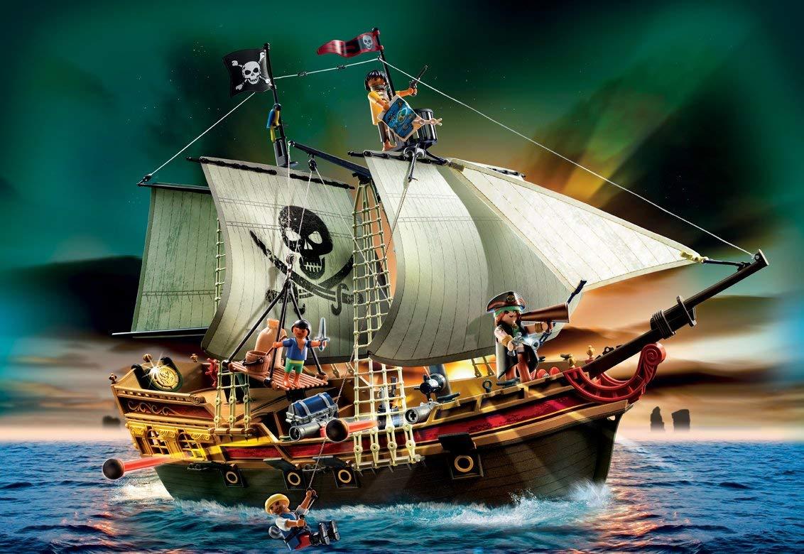 playmobil bateau d attaque des pirates