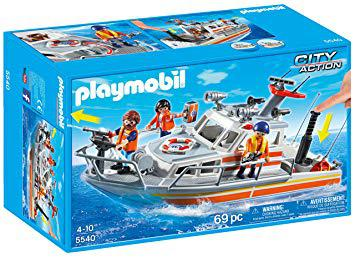 playmobil bateau secours