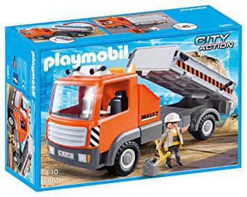 playmobil camion chantier