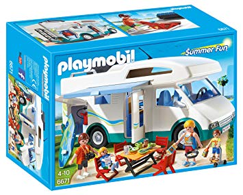 playmobil camping car 6671