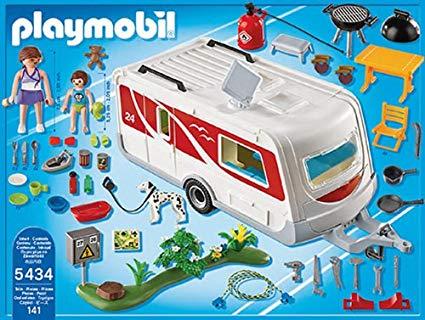 playmobil caravane voiture