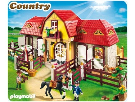 playmobil centre equestre