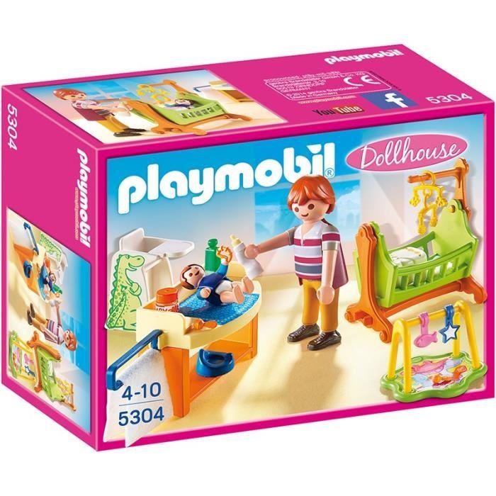 playmobil chambre bébé