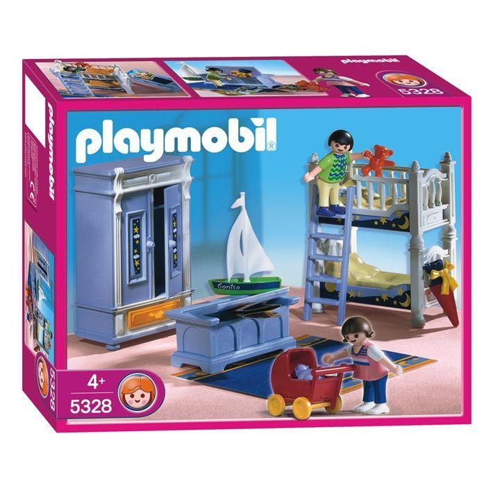 playmobil chambre enfant
