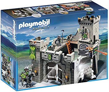 playmobil chevalier chateau