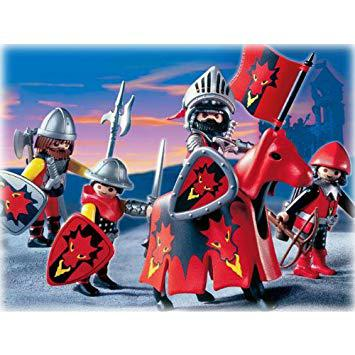 playmobil chevalier dragon