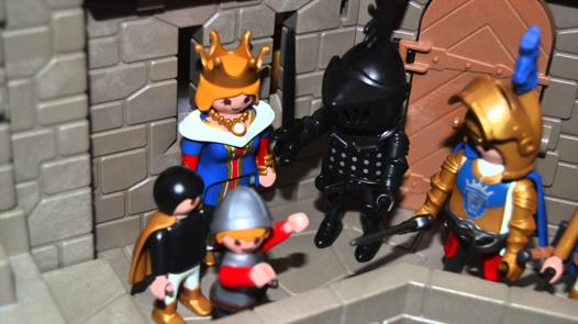 playmobil chevalier video