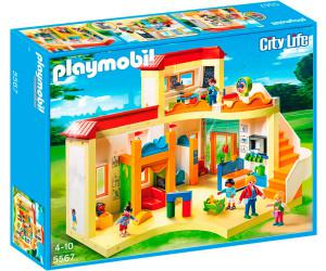 playmobil city life garderie