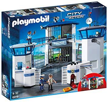 playmobil commissariat 6919