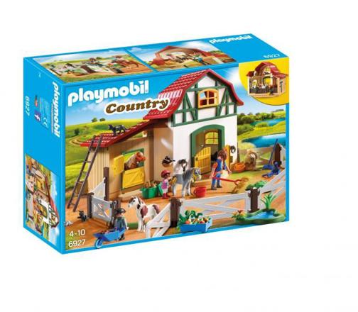 playmobil country poney club