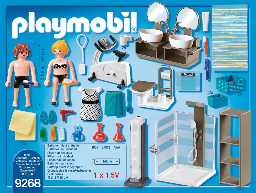 playmobil douche
