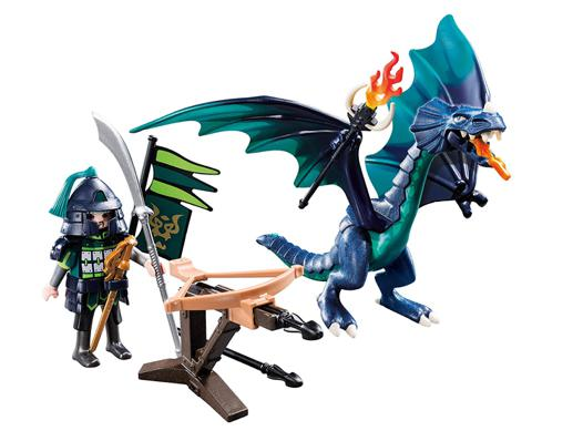 playmobil dragon bleu