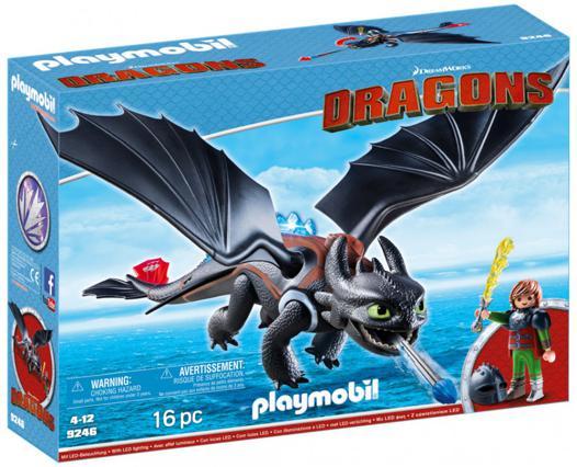 playmobil dragon harold et krokmou
