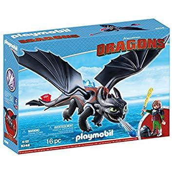 playmobil dragon krokmou