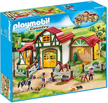 playmobil equitation