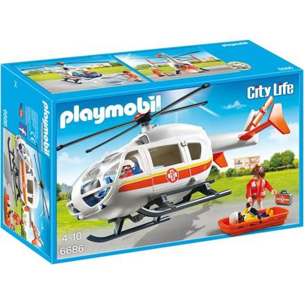 playmobil helicoptere medical