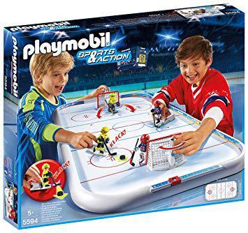 playmobil hockey sur glace