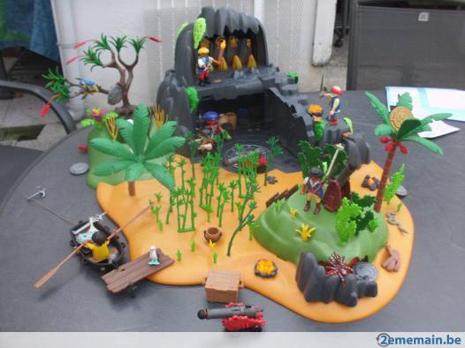 playmobil ile mysterieuse