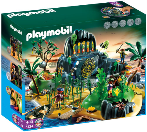 playmobil ile pirate