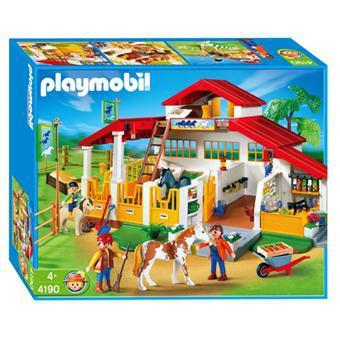 playmobil le centre équestre