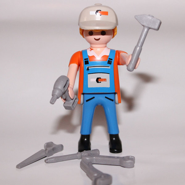 playmobil ouvrier