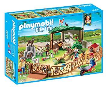 playmobil parc animalier
