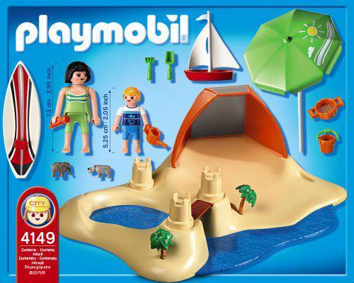 playmobil plage