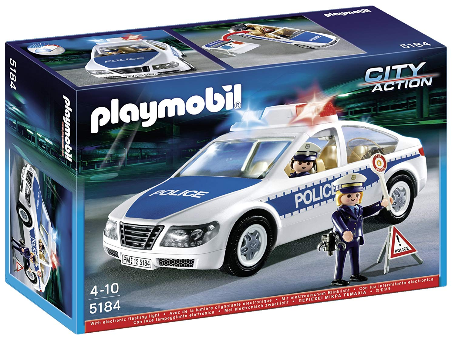 playmobil police voiture