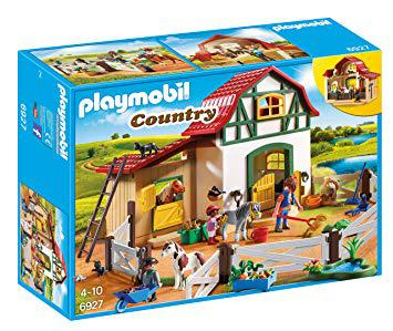 playmobil poney club