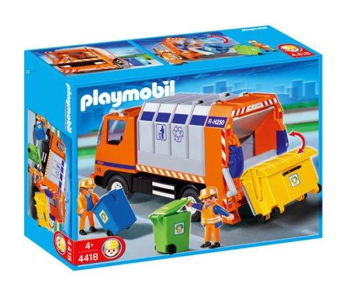 playmobil poubelle