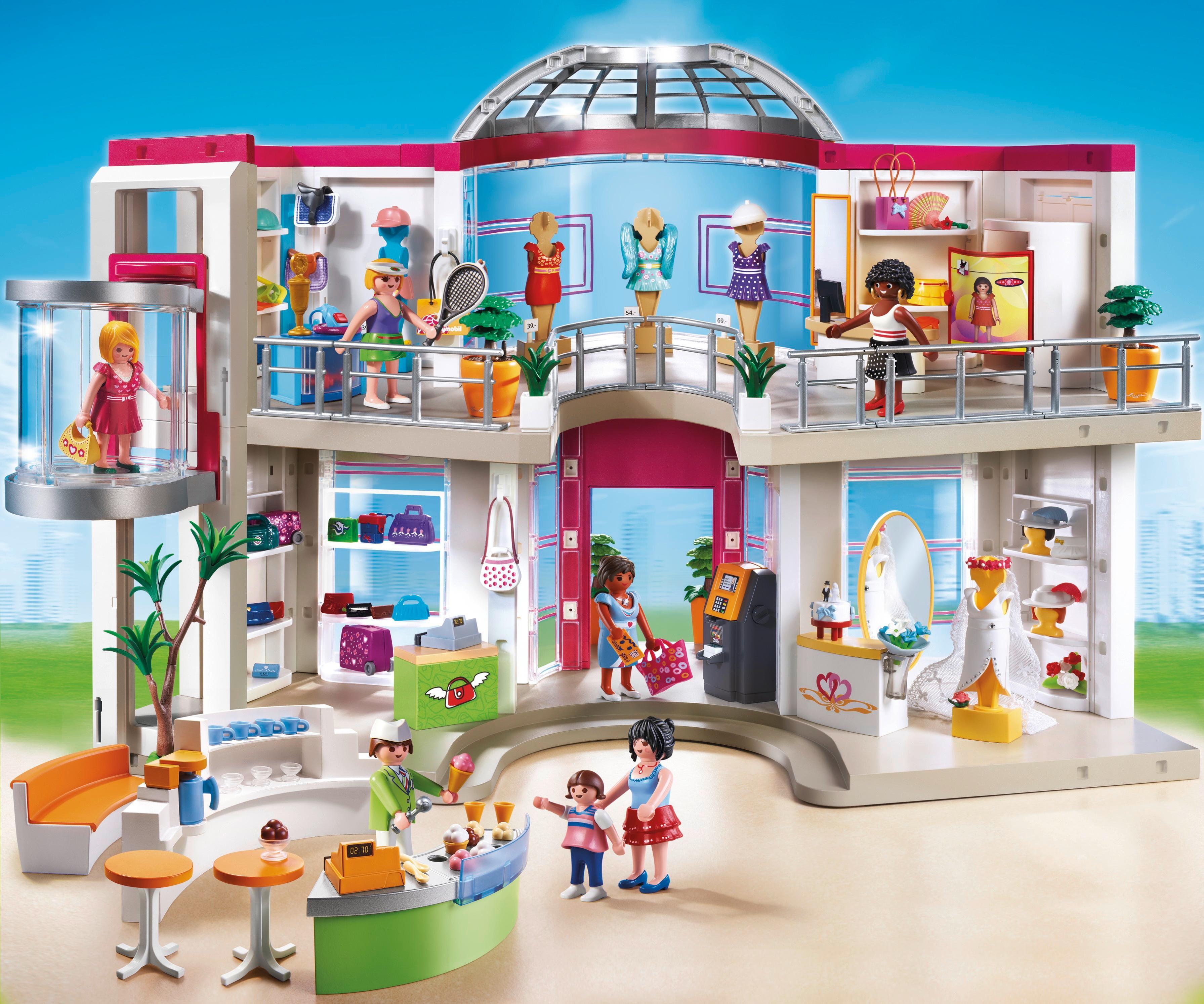 playmobil shopping
