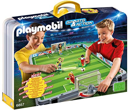 playmobil terrain de foot