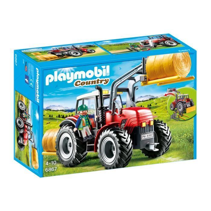 playmobil tracteur