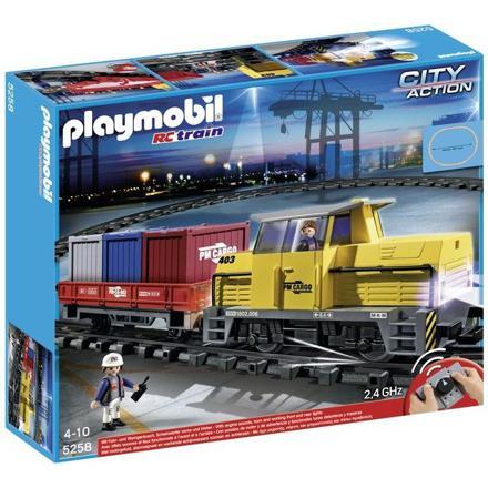 playmobil train electrique