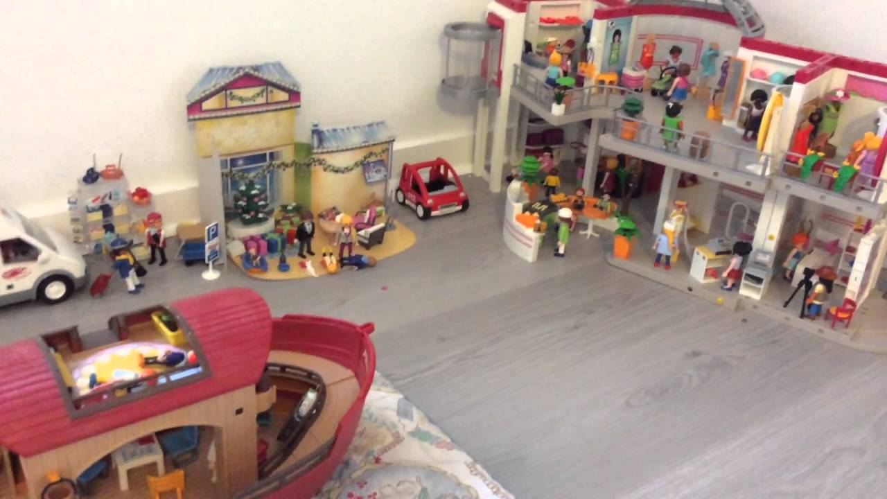 playmobil village