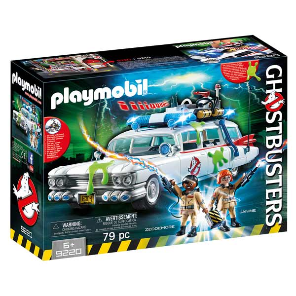 playmobil voiture ghostbusters