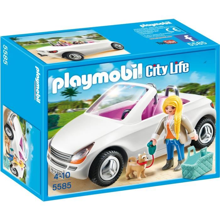 playmobil voiture