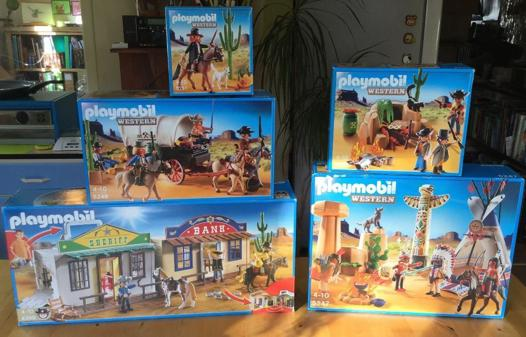 playmobil western collection