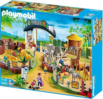 playmobil zoo playset
