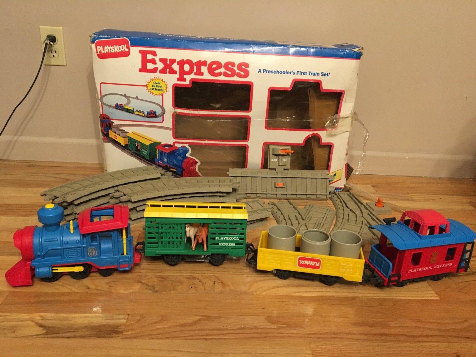 playskool express train set