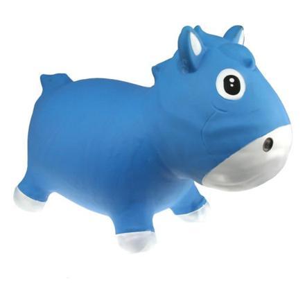 poney bleu