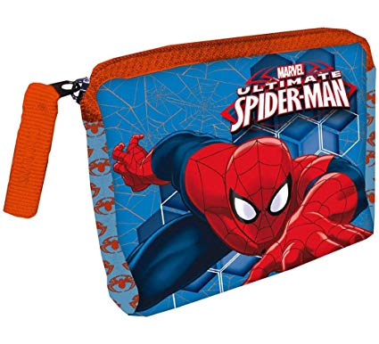 porte monnaie spiderman