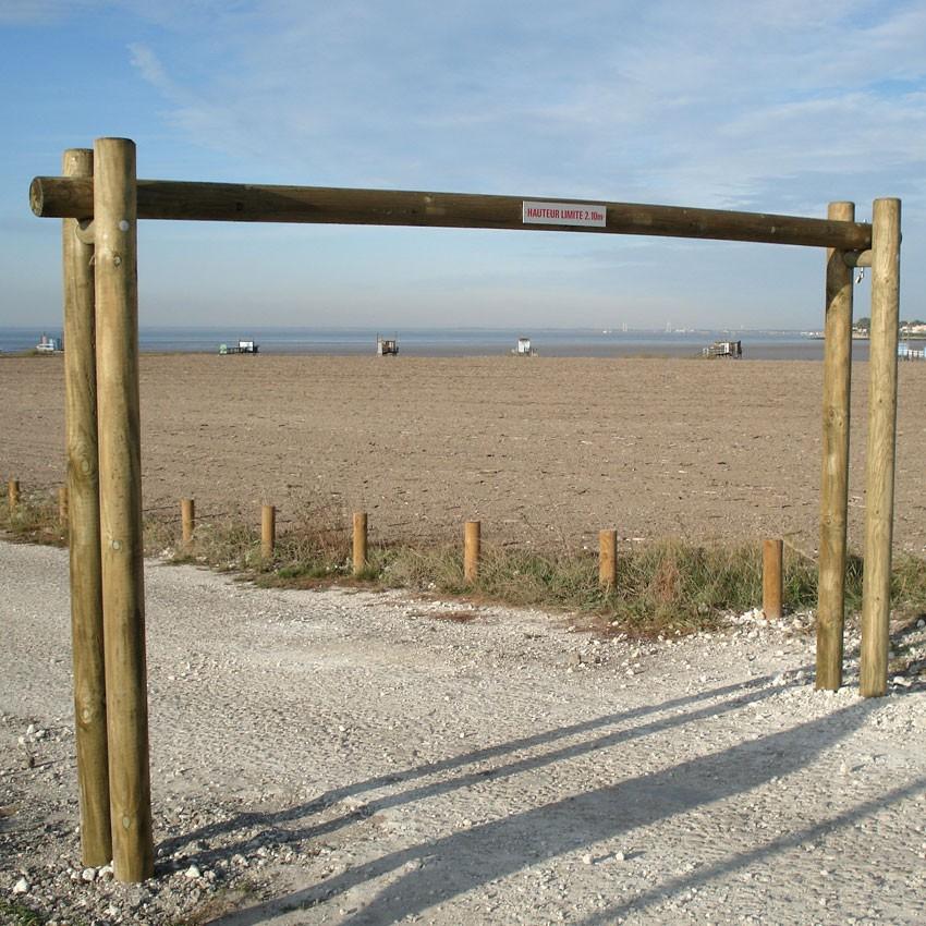 portique de plage