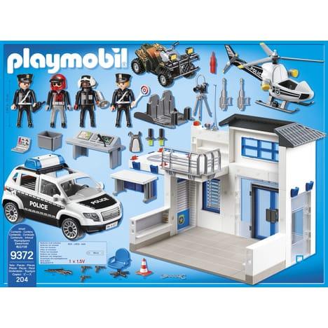 poste de police playmobil