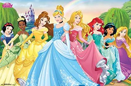 poster disney princesse