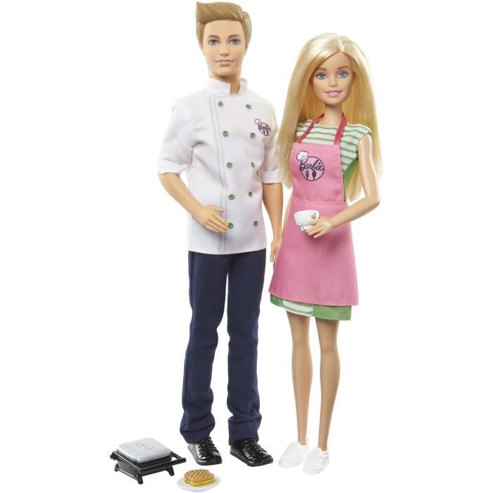 poupeé barbie et ken