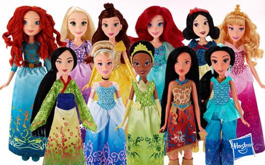 poupees princesses disney