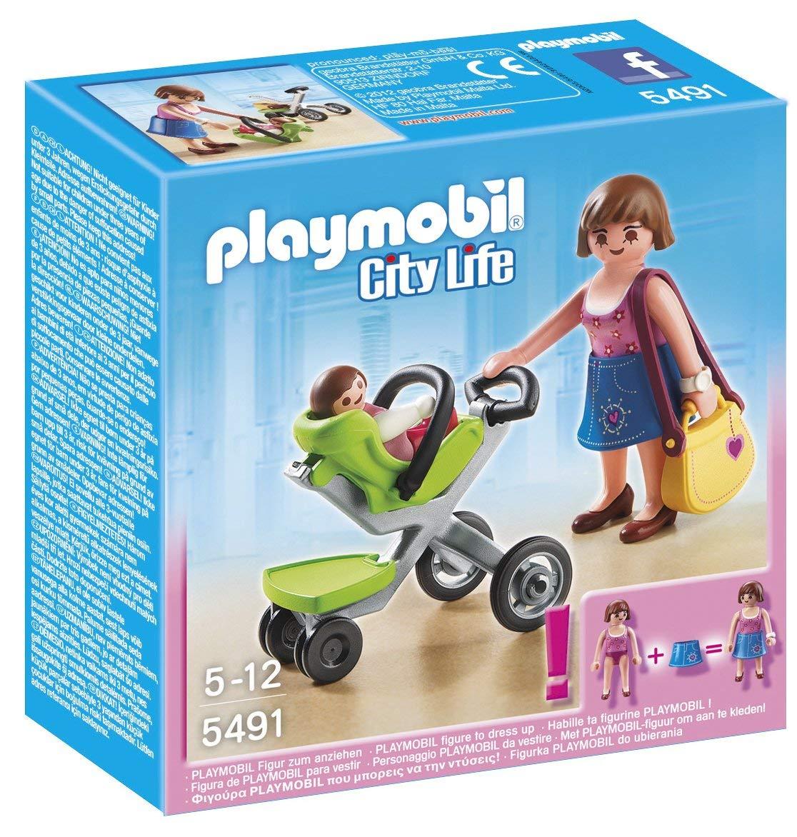 poussette playmobil