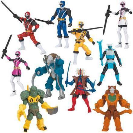 power rangers figurine 12 cm