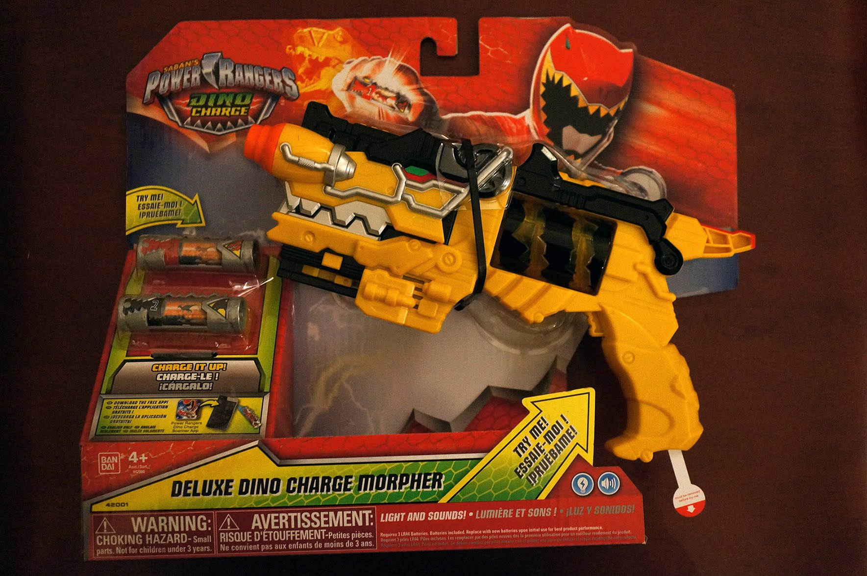 power rangers pistolet dino charge